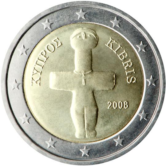 2 Euro De Chypre Valeur Et Cotations Des Pièces De 2 Euros De Chypre