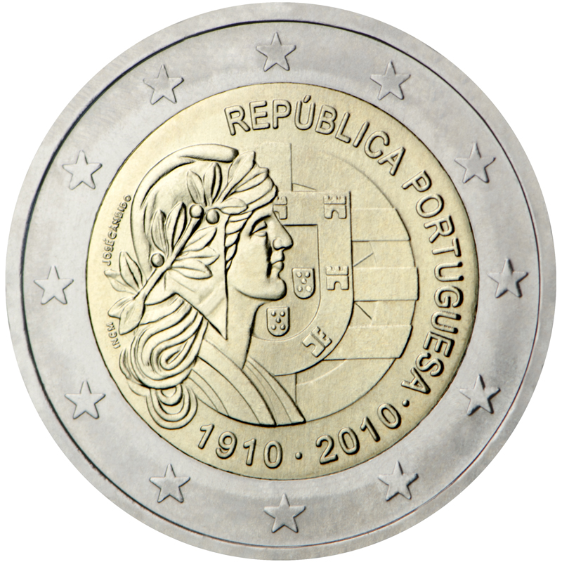 2 euro commémorative 2010 Portugal