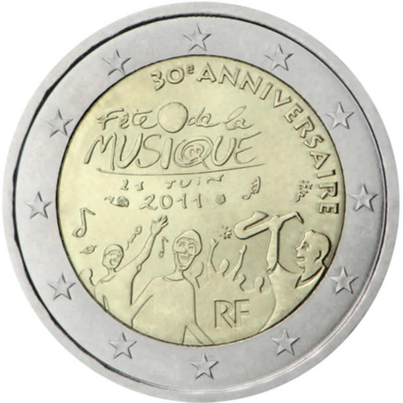 2 euro commémorative 2011 France