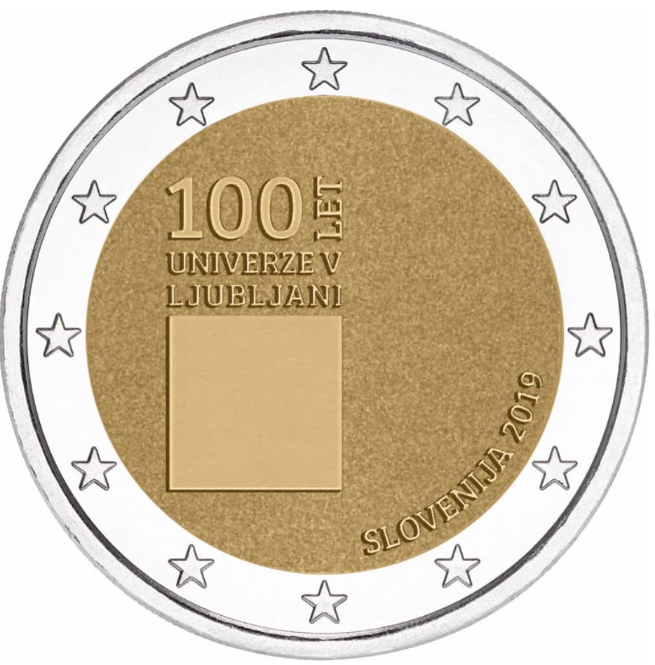 2 euro commemorative 2019