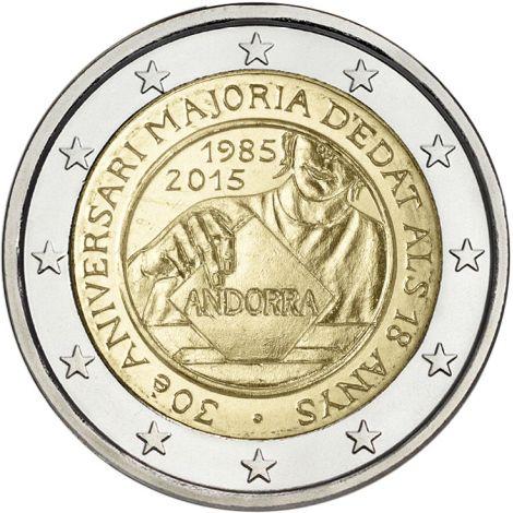 vendre les pièces de 2 euros