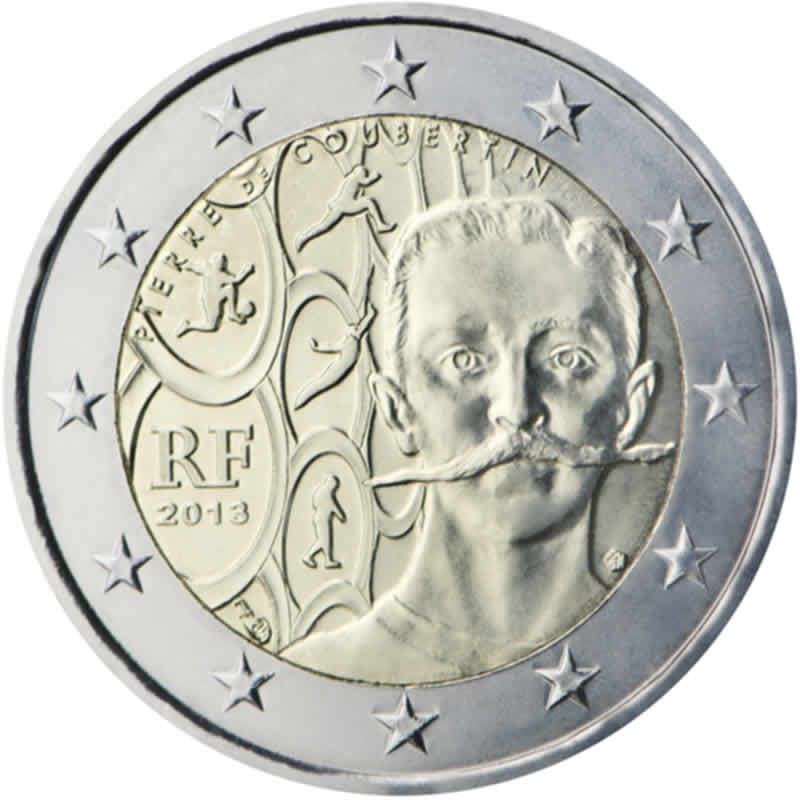2 euro commémorative 2013 France
