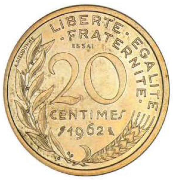 20 centimes de franc 1849 2001 cotations des pi ces. Black Bedroom Furniture Sets. Home Design Ideas