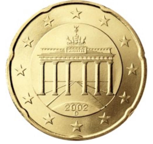 20 centimes d 39 euro de l 39 allemagne valeur des euros de collection. Black Bedroom Furniture Sets. Home Design Ideas