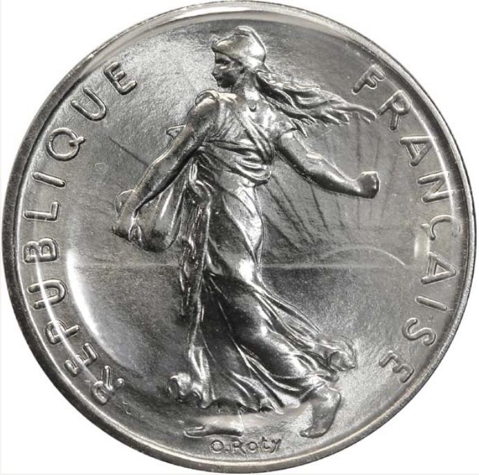 5 Francs Semeuse En Argent 1959 à 1969 Cotations Des Pièces