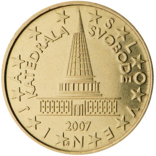pièce slovvensko 10 cts euro