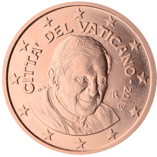 5 centimes euro du vatican valeur et cotation des pi ces de 5 euro cent. Black Bedroom Furniture Sets. Home Design Ideas