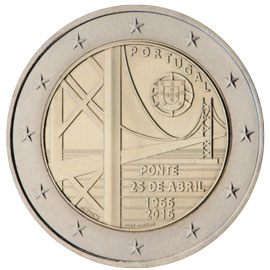 2 euro commémorative 2016 Portugal