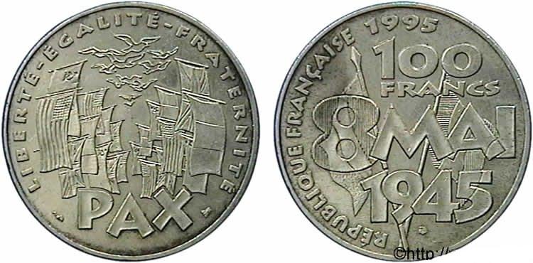 100 francs argent 8 mai 1945 1995 cotations des pi ces - Nettoyer piece argent ...
