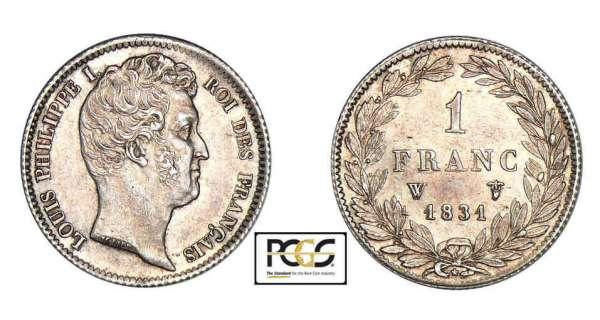 1 franc louis philippe i 1831 pi ce en argent - Nettoyer piece argent ...