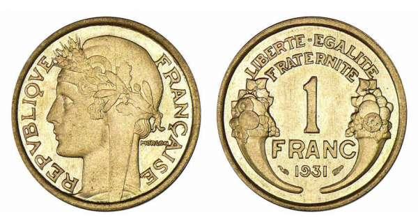 1 franc an xi 2001 valeur et cotations des pi ces de 1 franc - Valeur ancienne piece ...
