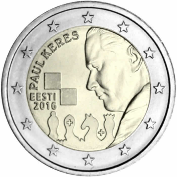 2 euro commémorative 2016 EStonie